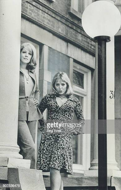 Two ladies out to change their images British actress Lynn Redgrave and Xaviera Hollander author of The Happy Hooker met facetoface on Jarvis St...