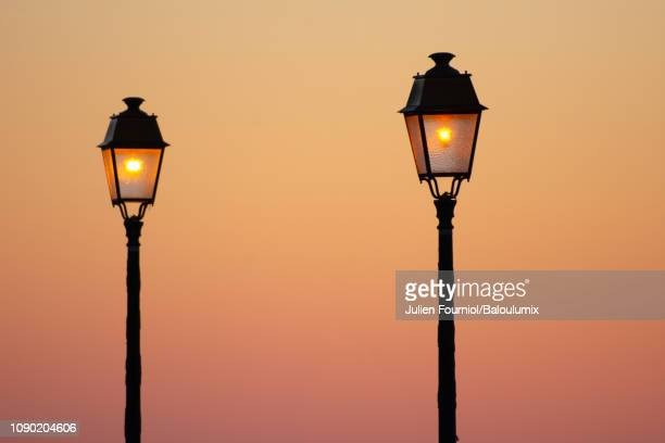 Street Light Floor Lamp Stock Pictures