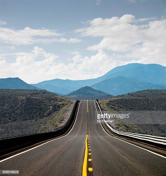 two lane highway - opportunity stock pictures, royalty-free photos & images