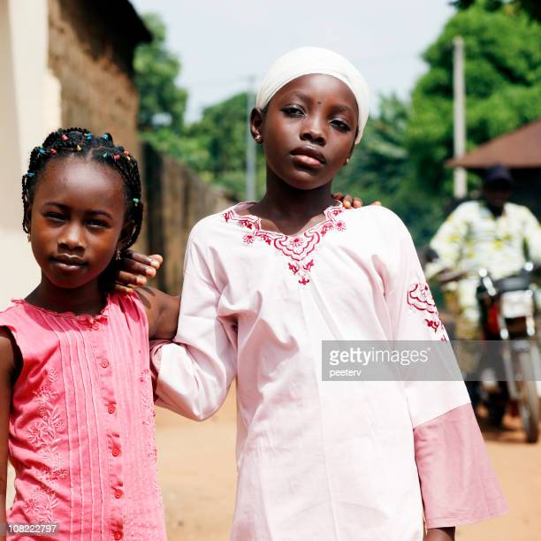 Two Little African Girls