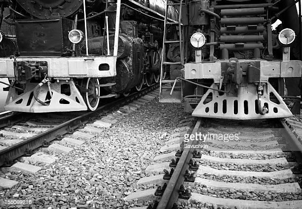 Two locomotive.
