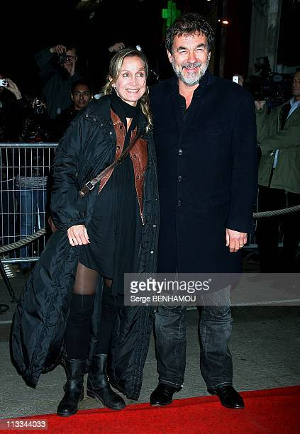 'Two Lovers' Premiere In Paris France On November 04 2008 Olivier Marchal and his wife Catherine