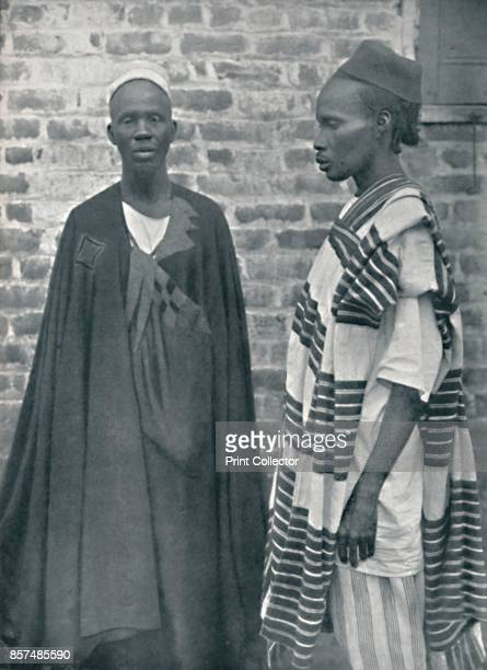 Two Mandingos from northwestern Liberia 1912 From The Living Races of Mankind Vol II [Hutchinson Co London 1912] Artist Harry Johnston