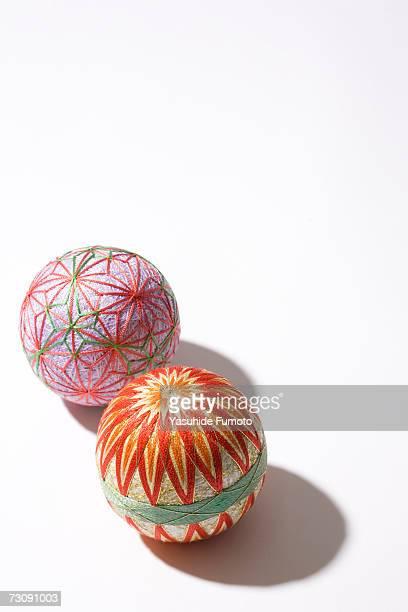 two mari balls - マリ ストックフォトと画像