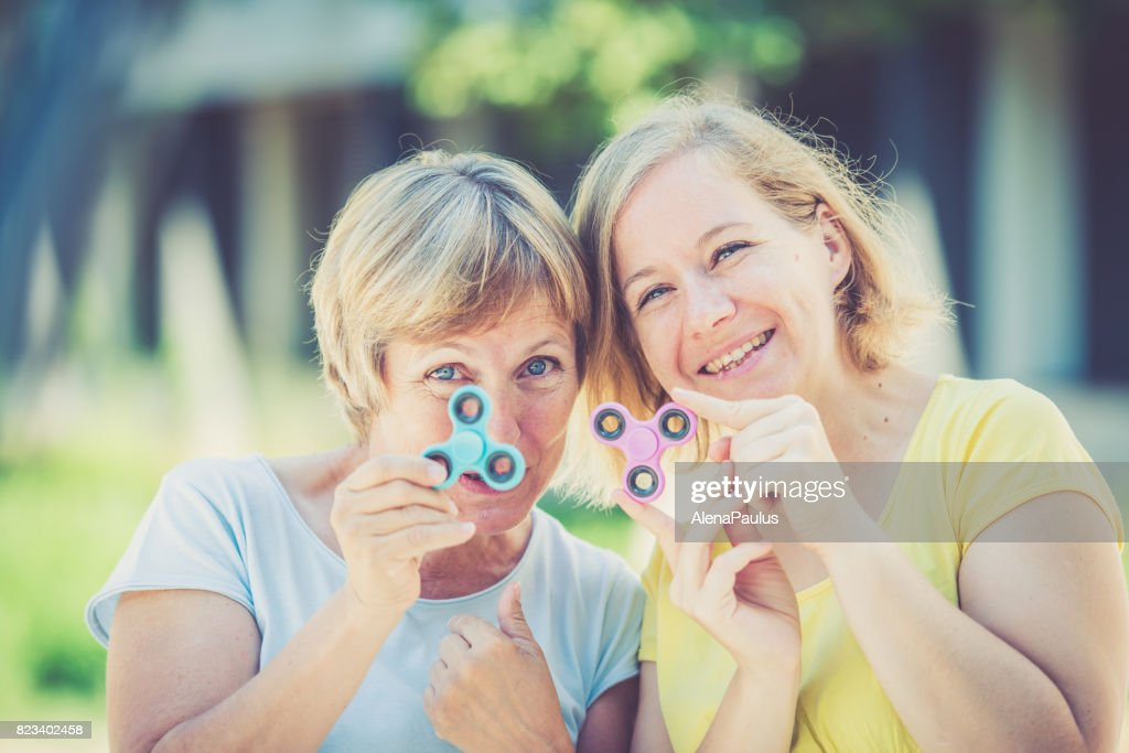 Mature women and toys