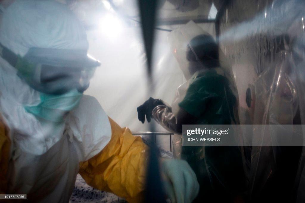 DR CONGO-HEALTH-EBOLA : News Photo