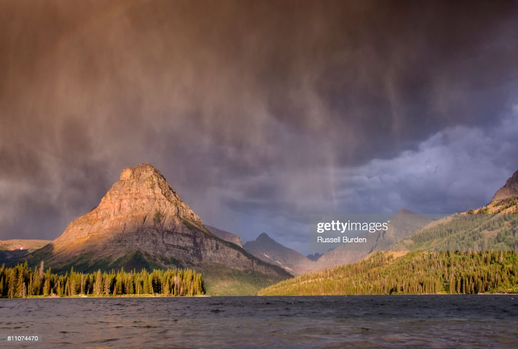 Two Medicine area of Glacier NP : Foto de stock