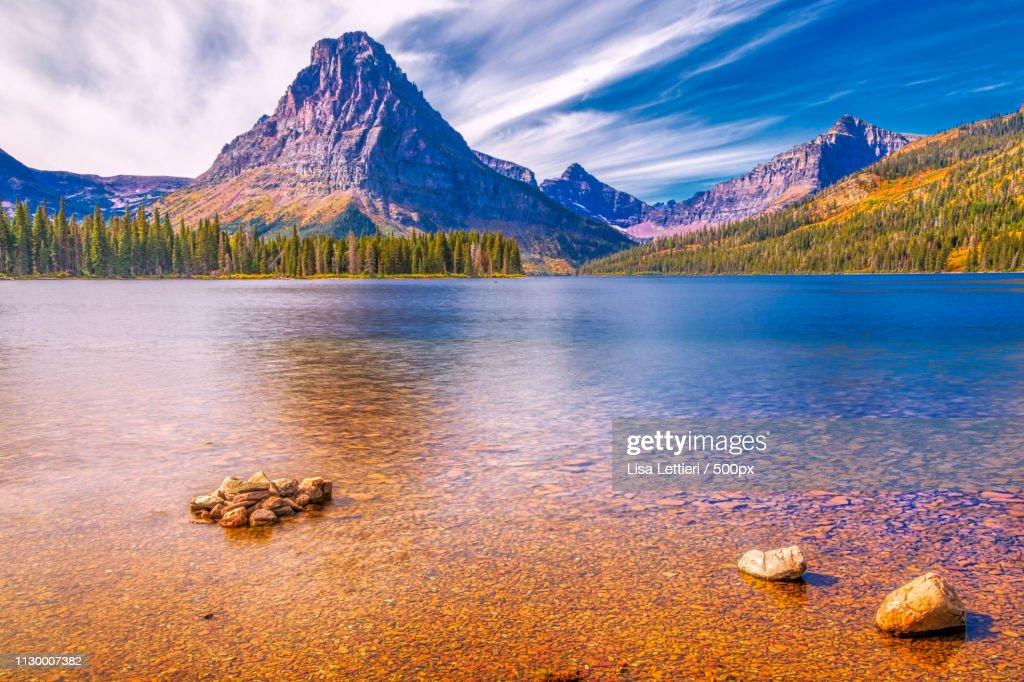 Two Medicine Lake Ii : Stock Photo