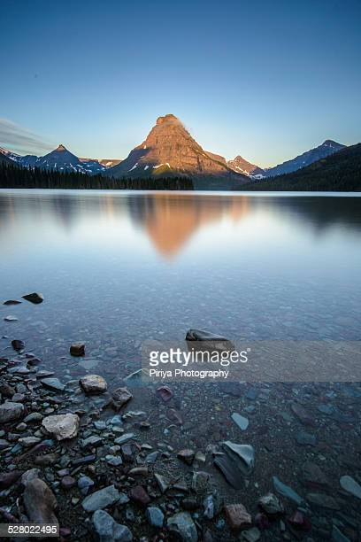 two medicine lake - two medicine lake montana stock photos and pictures