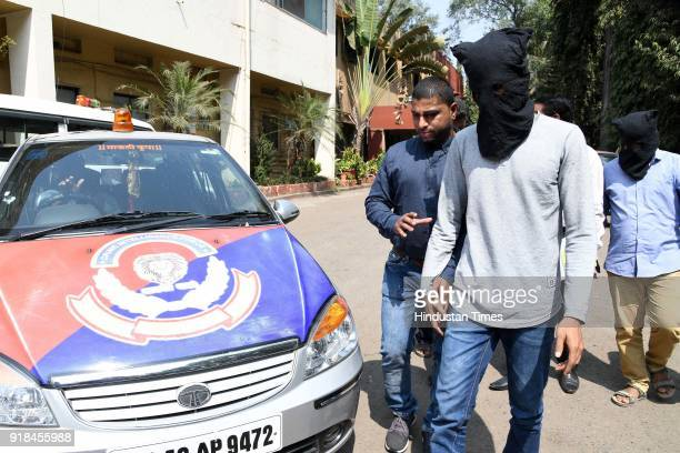 Two members of a gang were arrested by Navi Mumbai Police Crime Unit 2 for duping around 55 youths at CP office CBD on February 14 2018 in Mumbai...
