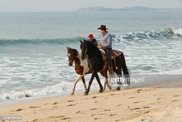 Horseback Riding at the Pacific Ocean