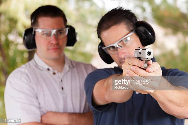 Two Men at the Shooting Range