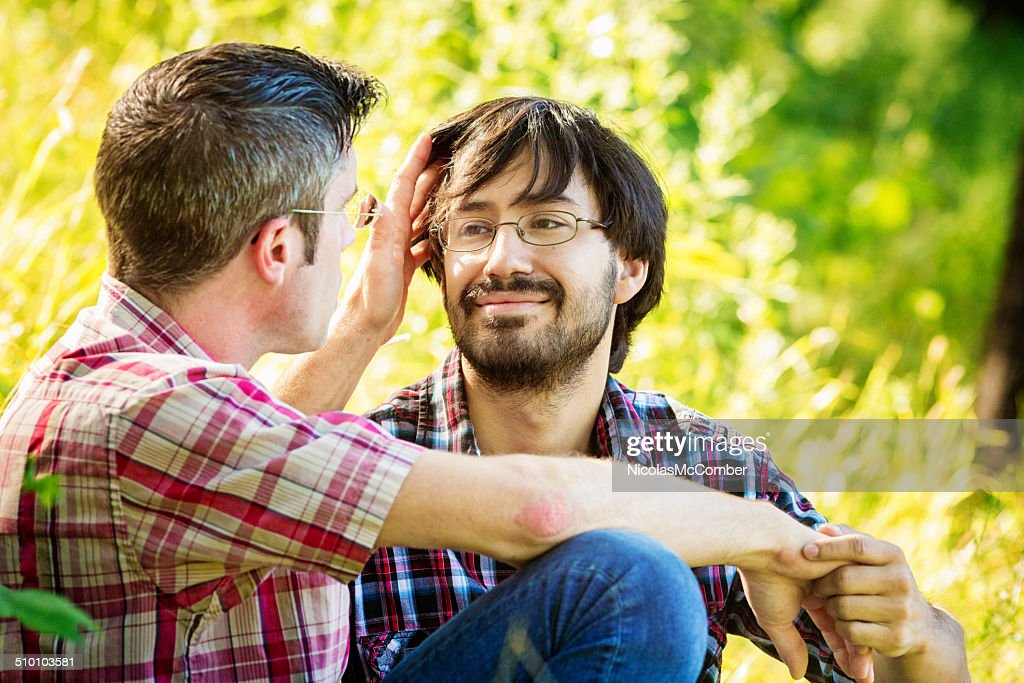 Two Men Falling In Love High-Res Stock Photo - Getty Images