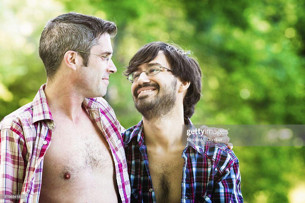 Two Men In Love High-Res Stock Photo - Getty Images