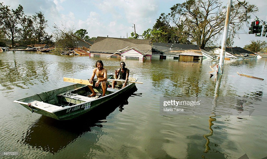 Hurricane Katrina Aftermath : News Photo