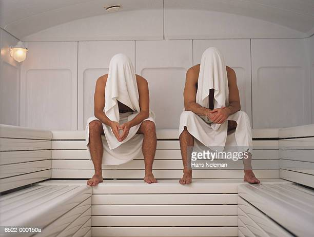 sauna man stock photos and pictures getty images. Black Bedroom Furniture Sets. Home Design Ideas