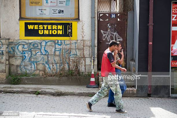 Western Union and people in Kosovo