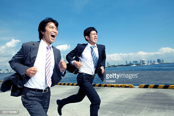 Two men who run