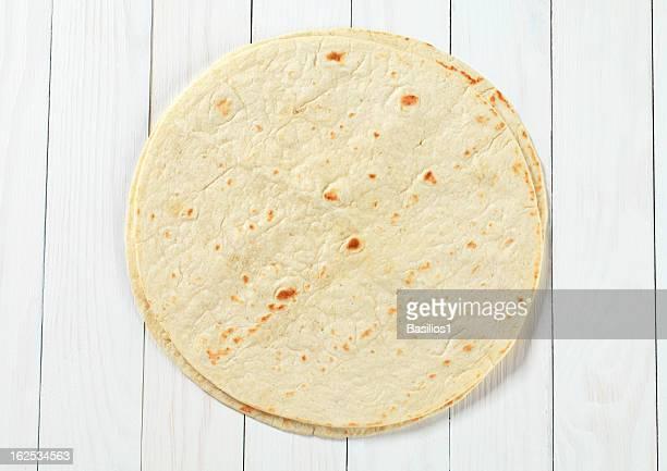 two mexican tortillas