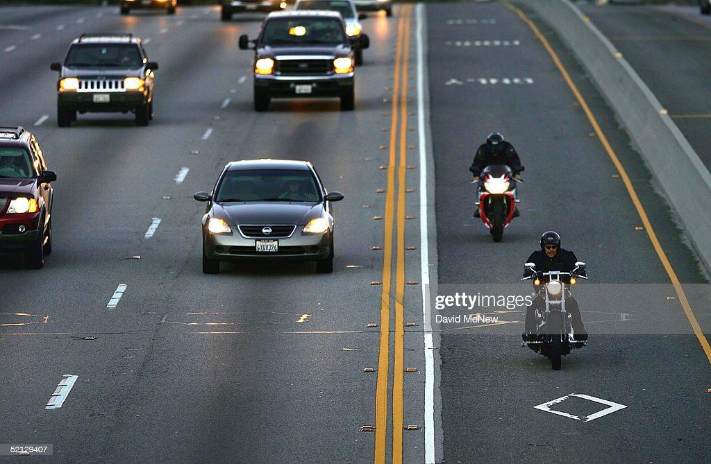Motorcycle carpool lane california