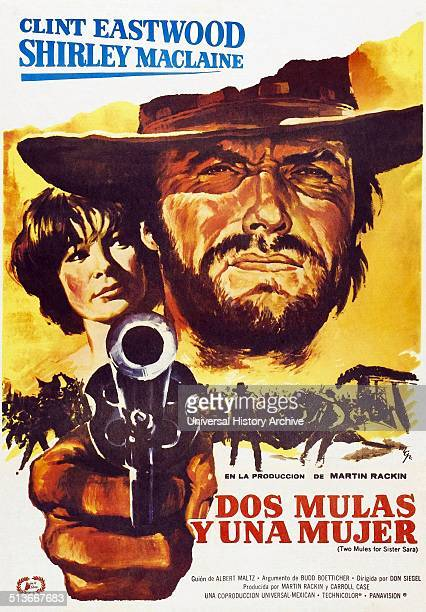 Two Mules for Sister Sara is an AmericanMexican western film starring Shirley MacLaine and Clint Eastwood and set during the French intervention in...