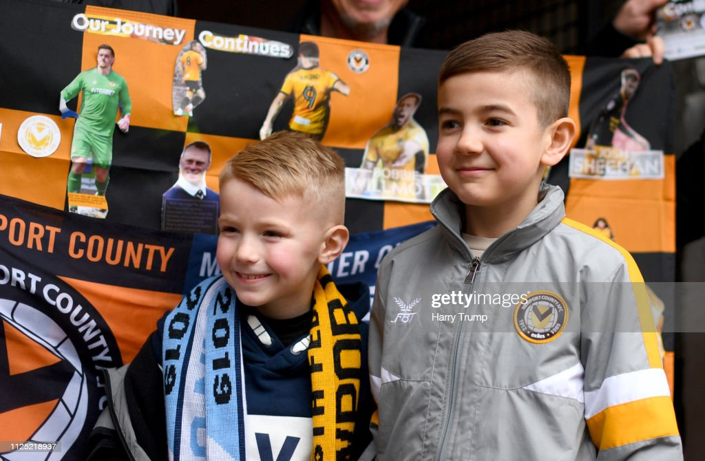 GBR: Newport County AFC v Manchester City - FA Cup Fifth Round