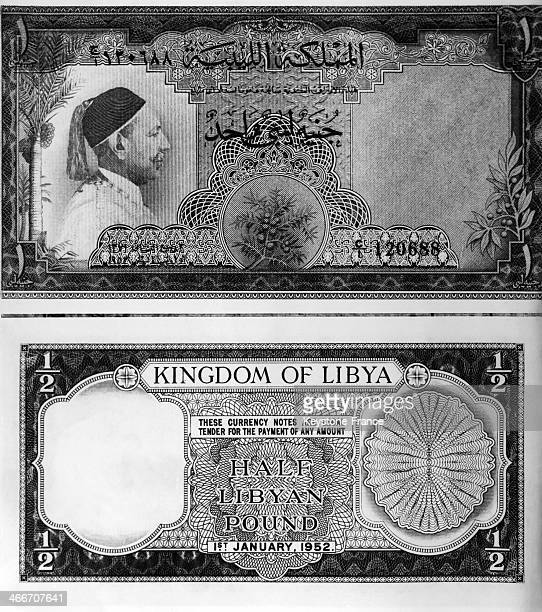 Two notes isssued by the Kingdom of Libya formed in the beginning of the fifties The new currency was issued to coincide with opening of the first...