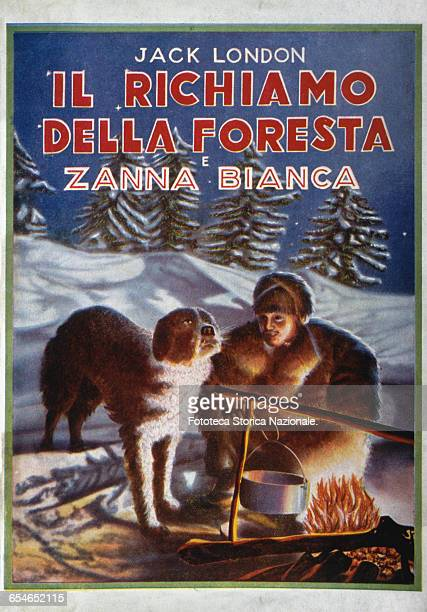 Two novels set in the Klondike during the Gold Rush 'The Call of the Wild' and 'White Fang' by Jack London translated into italian and published in...