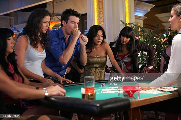 LAS VEGAS 'Two of a Kind' Episode 8 Pictured Jill Hennessy as Dr Jordan Cavanaugh Jerry O'Connell as Detective Woody Hoyt Vanessa Marcil as Samantha...