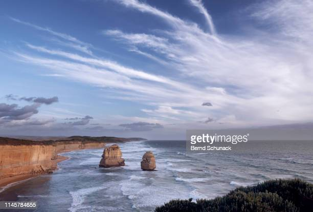 two of the twelve apostles - bernd schunack stock pictures, royalty-free photos & images