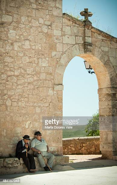 Two old man in Segovia