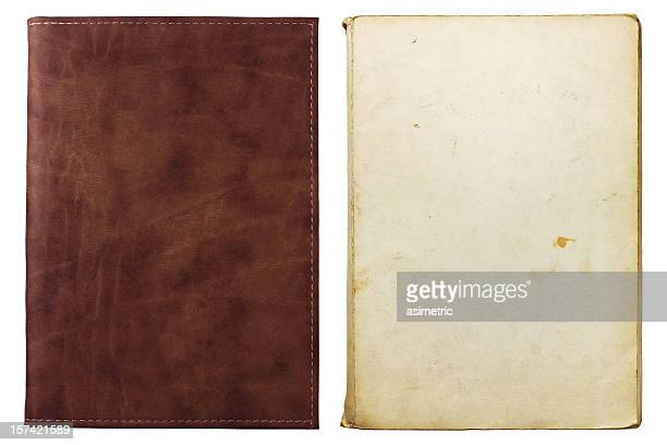 two old notebooks - design element stock pictures, royalty-free photos & images