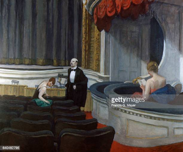 Two on the Aisle by Edward Hopper