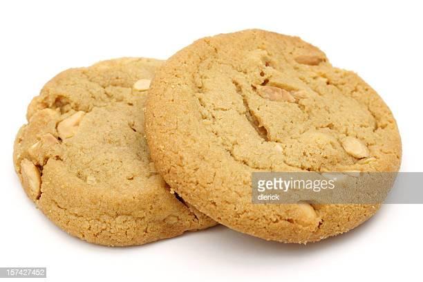 Deux cookies au beurre de cacahuète
