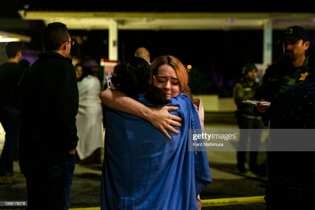 At Least 11 Casualties At Shooting At Country Western Bar In Southern California : News Photo