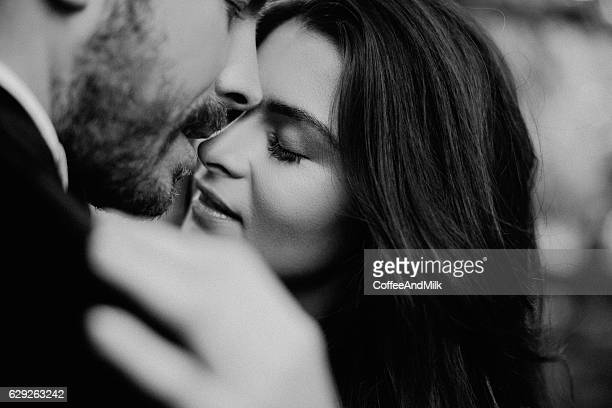 two people in love - man love stock photos and pictures