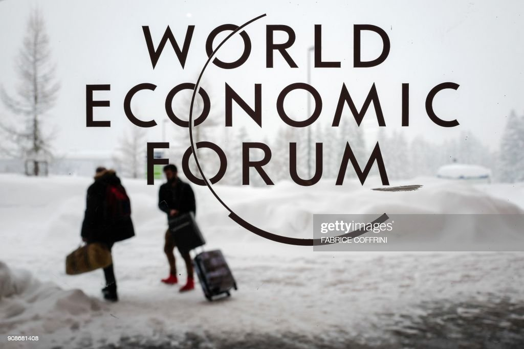 World Economic Forum 2018 annual meeting in Davos