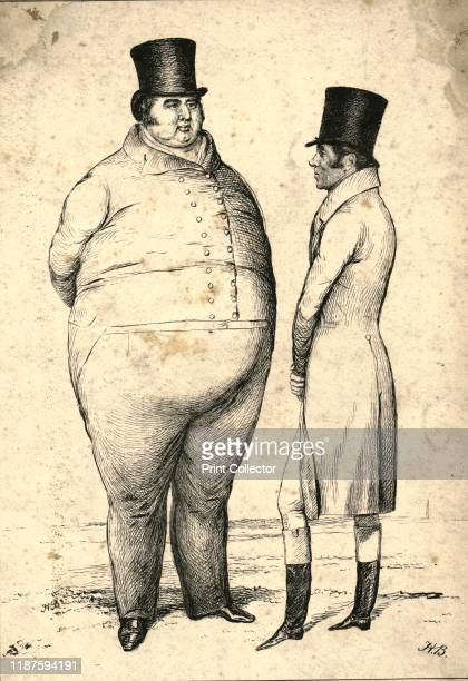 Two Personages of Great Weight on the Turf Query_Which is the weightier ' 1829 British racehorse owner Thomas Thornhill and jockey and racehorse...