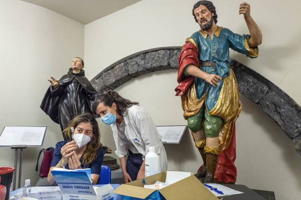 ITA: Art Museums Open As Covid-19 Vaccination Hubs