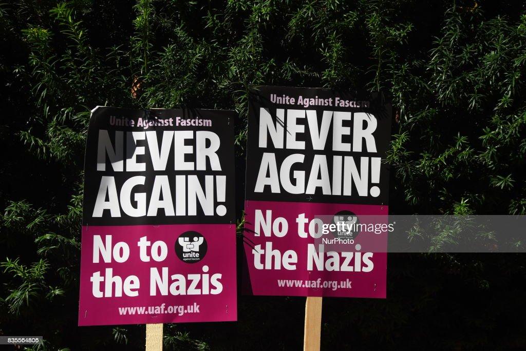 Anti Trump Demonstration In London : News Photo