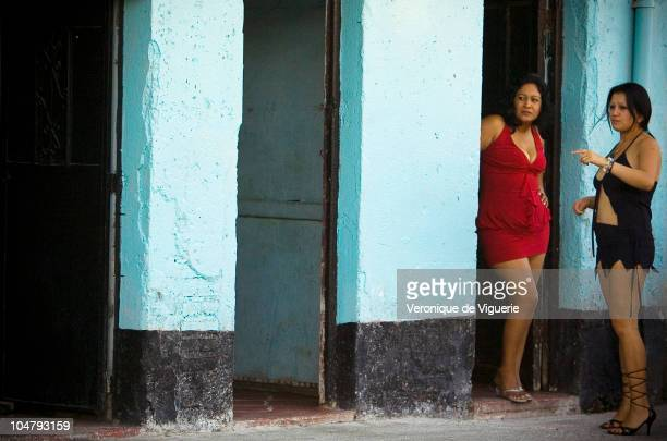 Two prostitutes at work on the streets of Guatemala City Prostitutes are often murder victims in the city Currently less then 1% of femicide cases...