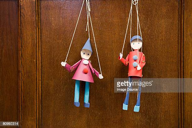 two puppets - puppet stock pictures, royalty-free photos & images
