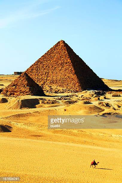 Two Pyramids in Giza, Egypt