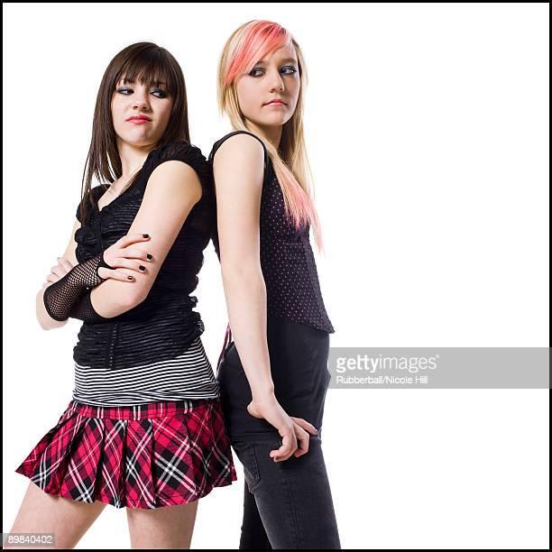 two rocker girls