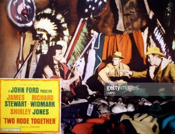Henry Brandon Richard Widmark James Stewart 1961
