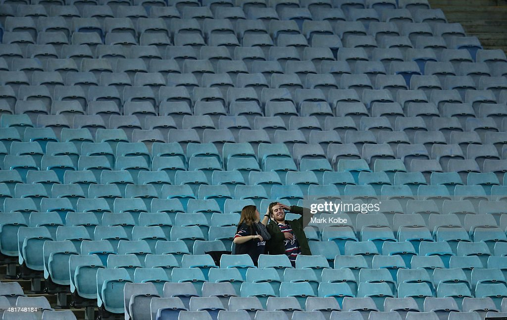 NRL Rd 20 - Tigers v Roosters : News Photo
