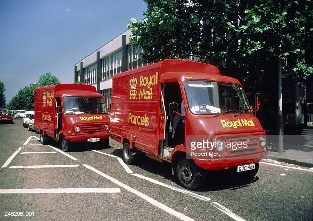 Two Royal Mail Vans