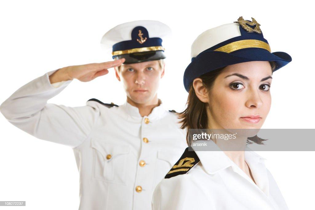 Two sailors : Stock Photo