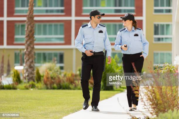 two security guard - guarding stock photos and pictures