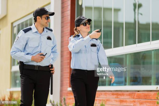 two security guard - watchmen stock pictures, royalty-free photos & images